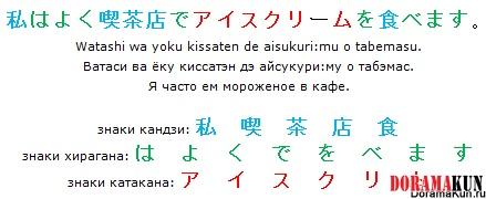 Конечно же, все прекрасно знают об одной из главных особенностей японского - а именно об иероглифах
