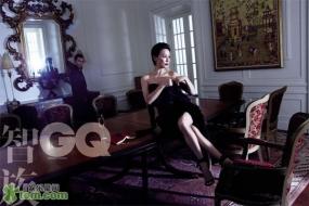 Carina Lau Ka Ling Для GQ 03/2012