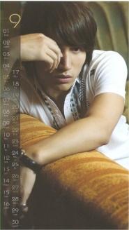Jerry Yan – Calendar 2009