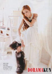 Namie Amuro Для GLAMOROUS 08/2010