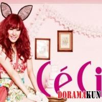 За кулисами фотосъемки Тиффани из Girls' Generation для журнала CeCi
