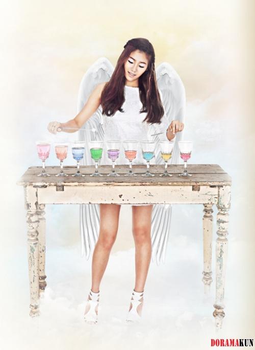 Новая девичья группа FNC, AOA, представила тизер-фото Юнарии, Минарин и Чиминель