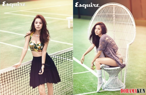 От Мин Хё Рин захватывает дух в новейшей фотосъемке для 'Esquire'