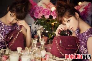 Сасаки Нозоми стала музой бренда 'Jewelna Rose'