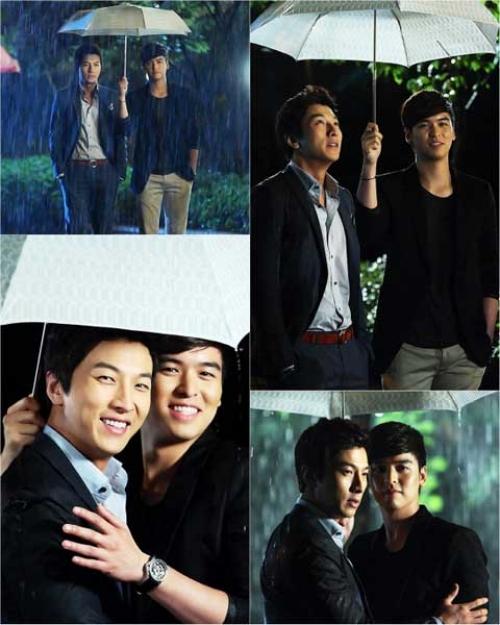 Ли Чжан У и Пак Гон Хён поделились фотографиями со съемочной площадки драмы Согласна, согласна