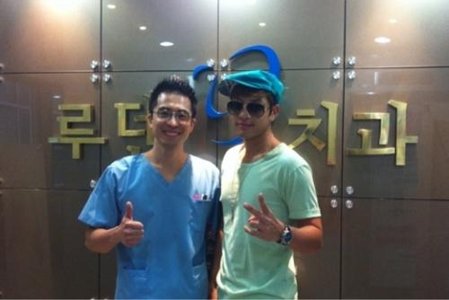 Se7en посетил новый стоматологический офис своего шурина