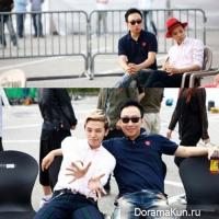 Пак Мён Су и G-Dragon