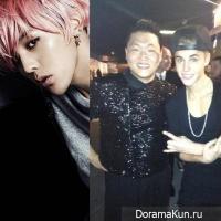 G-Dragon и Psy выступят на корейском концерте Джастина Бибера?