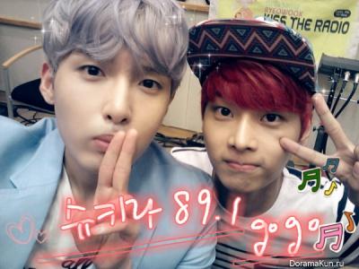 Рё Ук из Super Junior и С N из VIXX