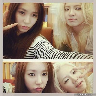 Хё Ён с Тиффани