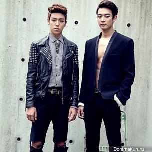 Минхо и Ли Хён У