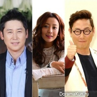 Kim Hee Sun, Shin Dong Yup и Yoon Jong Shin