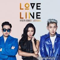 Hyolyn (SISTAR), Bumkey, JooYoung – Love Line