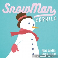 APRIL – Snowman
