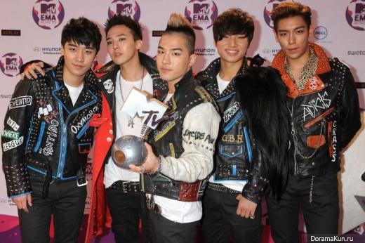 Big Bang MTV EMA 2011