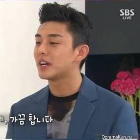 Ю А Ин сказал, что он до сих пор поддерживает связь с Ким Тхэ Хи