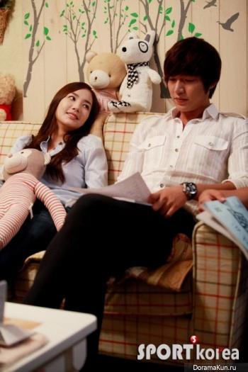 Пак Мин Ён и Ли Мин Хо