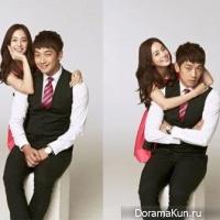 Рейн и Ким Тхэ Хи