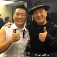 PSY и Джеки Чан