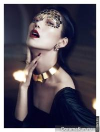 Tao Okamoto для Vogue China December 2012