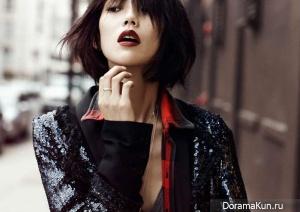 Tao Okamoto для Vogue China август 2011