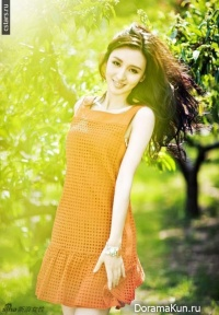 Zhang Meng для Beautiful 2012 ч.1