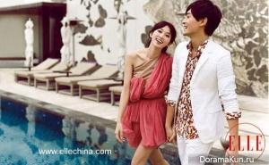 Joe Cheng и Lin Chi Ling для Elle China март 2010