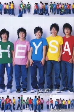 Hey! Say! JUMP для School Calendar Photobook