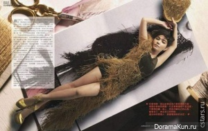 Ella Chen для Elle Taiwan январь 2012