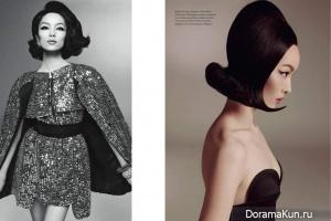 Fei Fei Sun для Vogue Italy January 2013