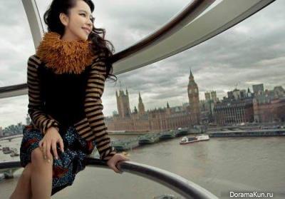 Vivian Hsu для Marie Claire Taiwan April 2012