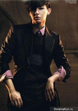 Aaron Yan для Men's Folio