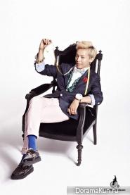 G-Dragon для Bean Pole April 2011