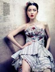 Du Juan для Vogue China август 2012