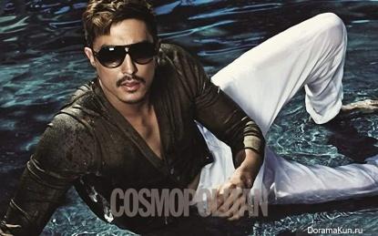 Daniel Henney для Cosmopolitan February 2011