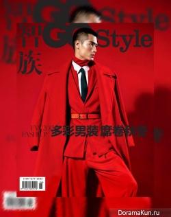 David Chiang, Hao Yun Xiang & Hu Zhong Han для GQ Style China
