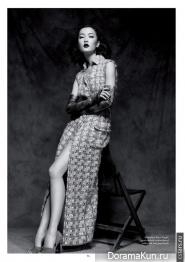 Du Juan и Tian Yi для Glass Magazine 2013