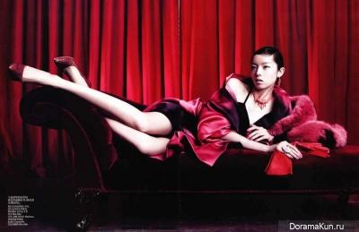 Fei Fei Sun для Vogue China April 2013