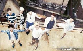GOT7 для 10+Star Magazine August 2014