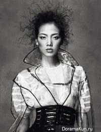 Grace Gao для Numéro China