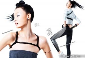 Ji Lili для Vogue China январь 2012