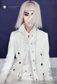 Jing Ma для Vogue China february 2012