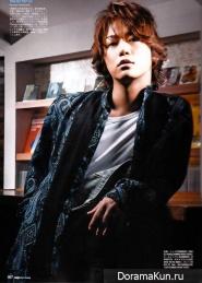 Kamenashi Kazuya (KAT-TUN) для DIME Men's Beauty