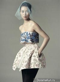 Liu Wen для Dazed & Confused December 2012