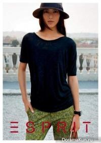 Liu Wen для Esprit spring-summer 2013