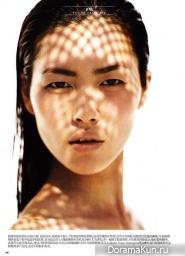 Liu Wen для Vogue China июнь 2011