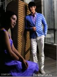 Lu Yi and Bao Lei для COMFORT Magazine Photoshoot