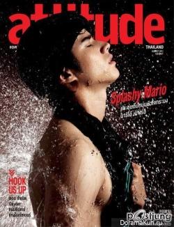 Mario Maurer для ATTITUDE Magazine №141 August 2011