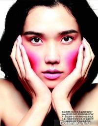 Tao Okamoto для Vogue China March 2013