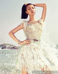 Tian Yi для Vogue China июль 2012